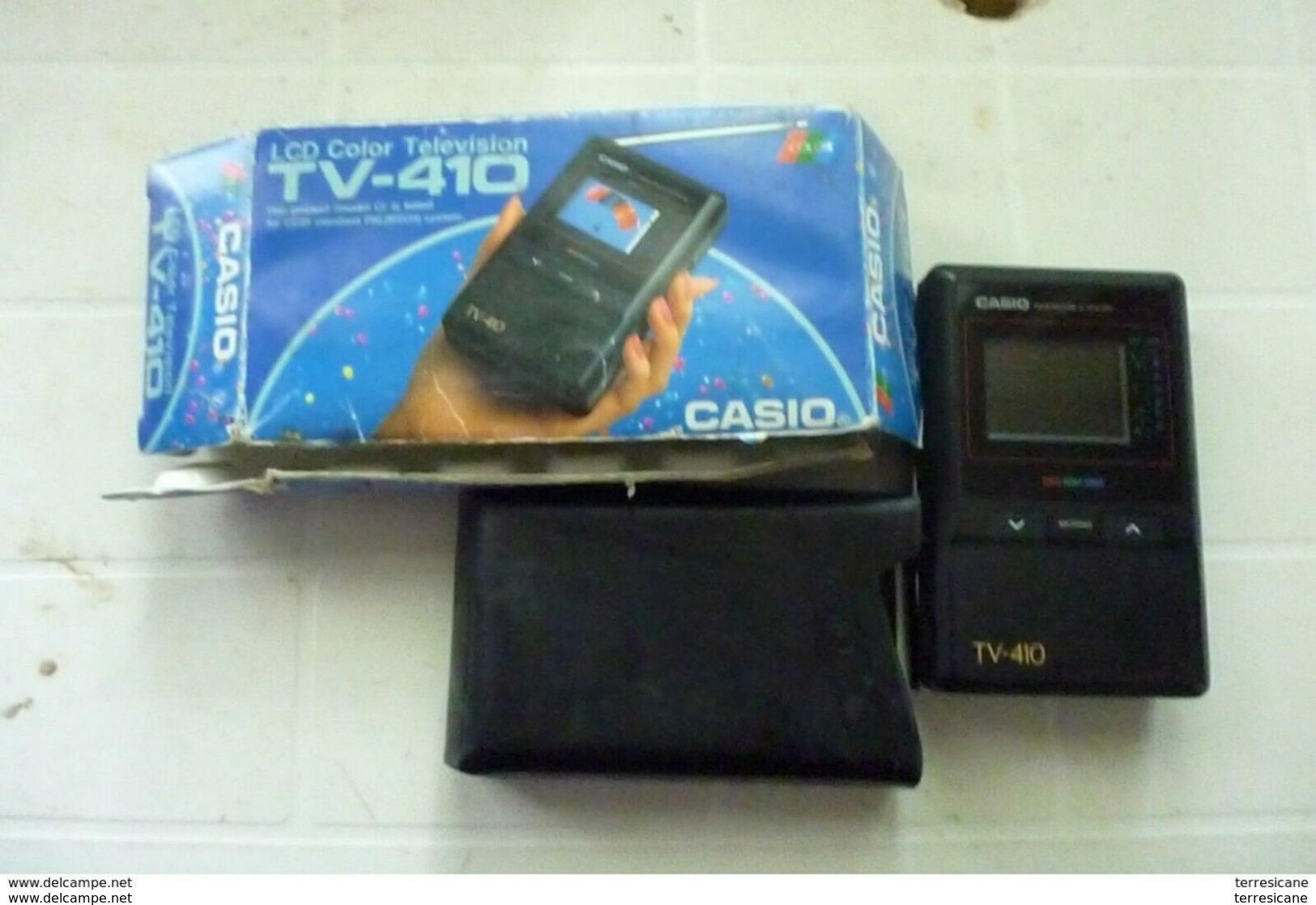 CASIO LCD COLOR TELEVISION TV 410 PAL ANALOGIC FUNZIONANTE Utenti Esperti - Televisione