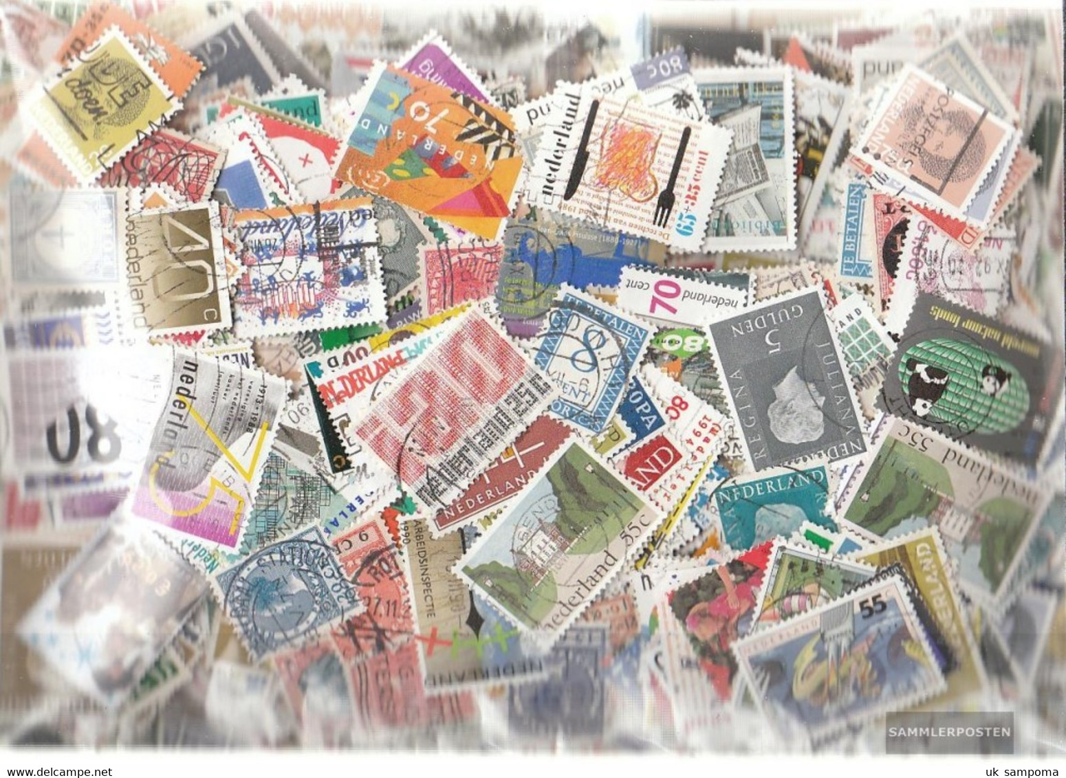 Netherlands Stamps-2.500 Different Stamps - Collections