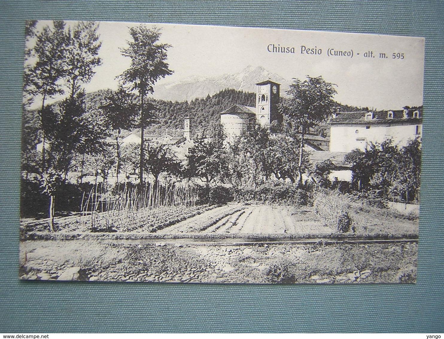 CUNEO - CHIUSA PESIO - Cuneo