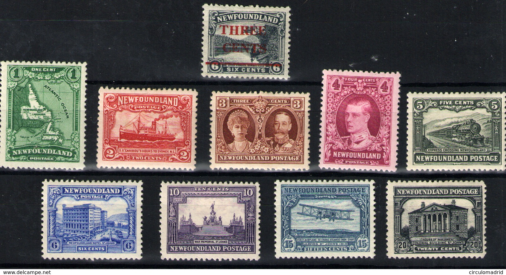 Terranova Nº 146/55. Año 1929/30 - Unused Stamps
