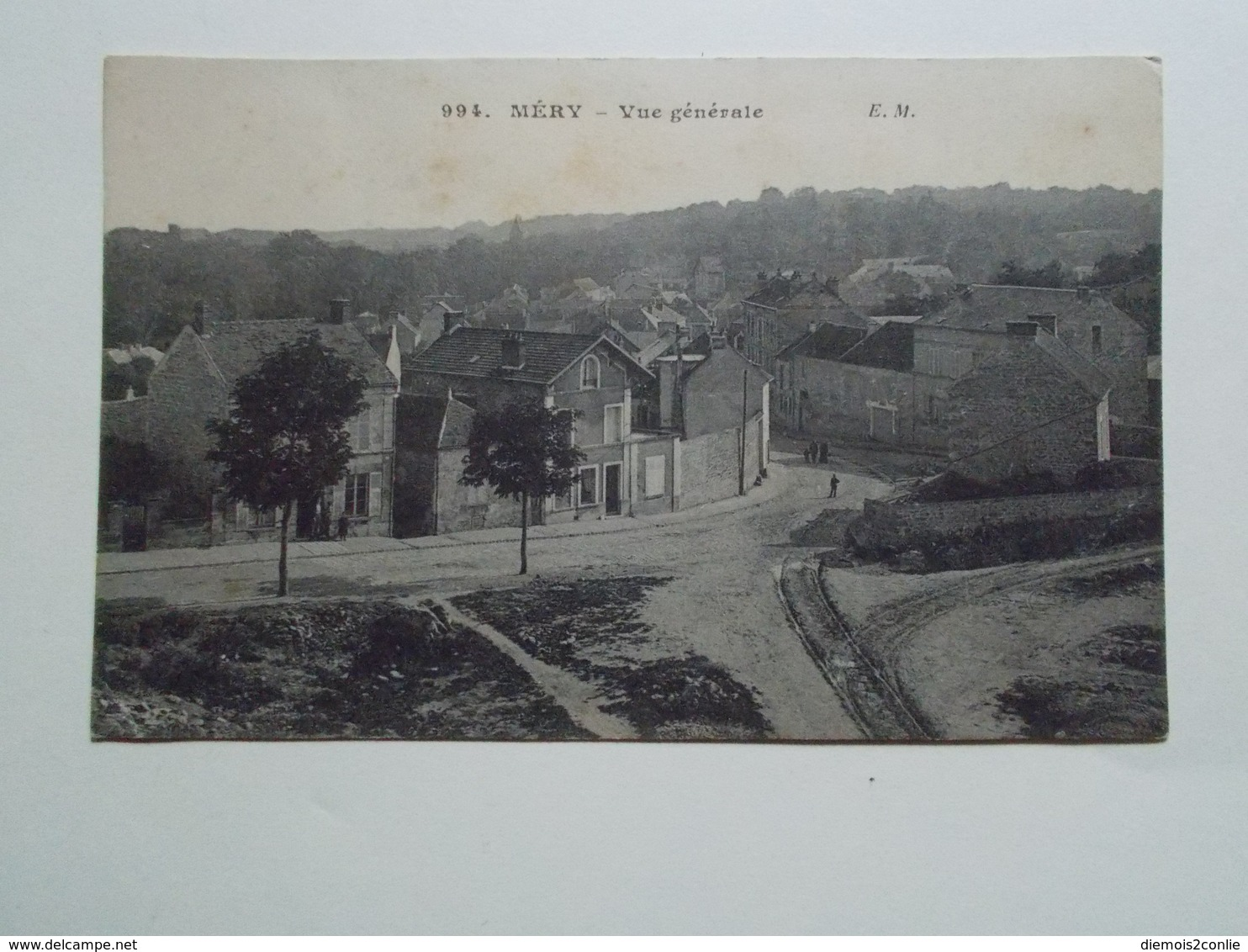 Carte Postale  - MERY (95) - Vue Générale (2896) - Mery Sur Oise