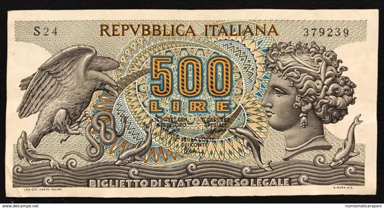 500 Lire Aretusa 1970  LOTTO 2556 - 500 Lire
