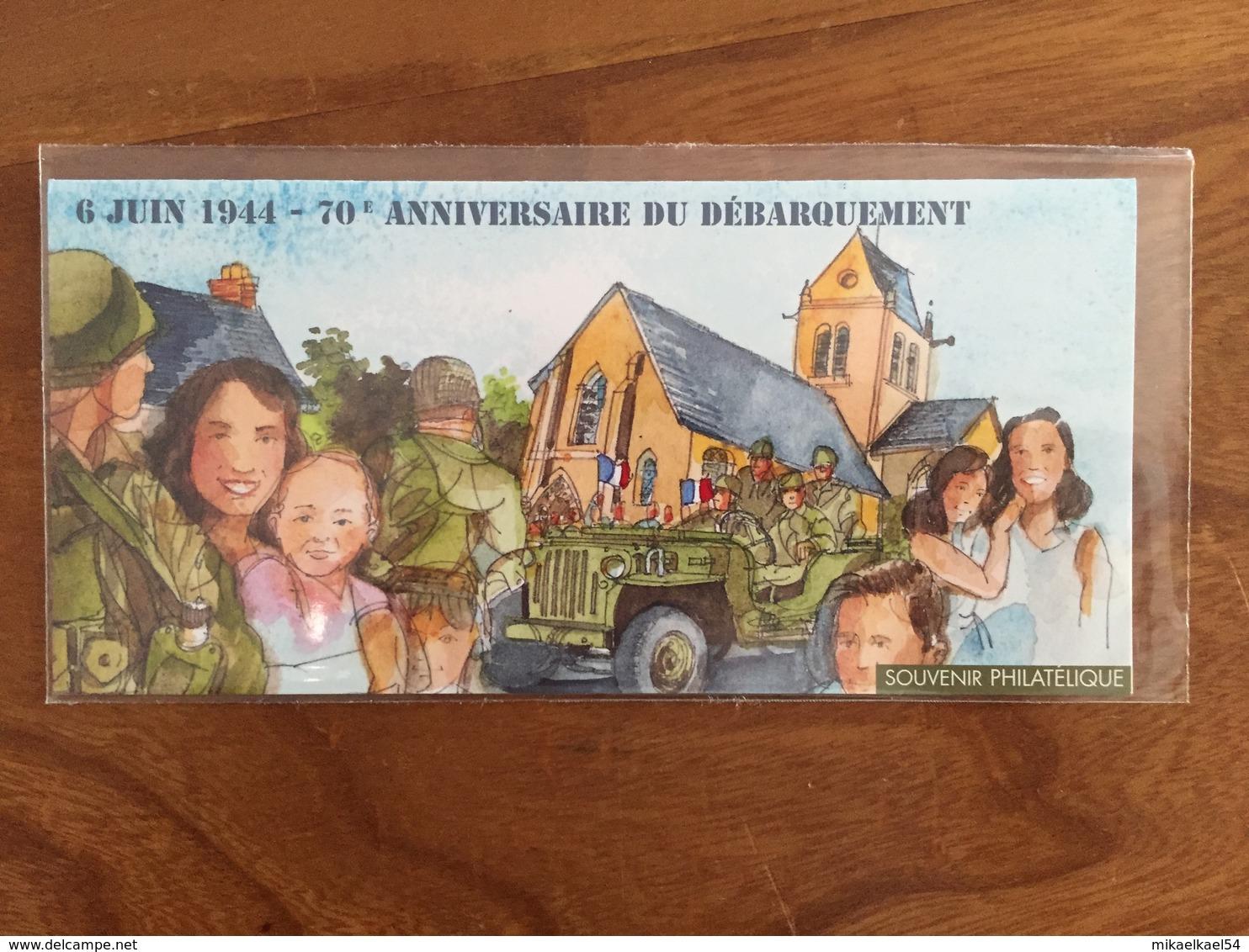 Souvenir Philatélique 70e ANNIVERSAIRE DU DÉBARQUEMENT Y&T BS 93 - 2014 - Neuf Sous Blister - Blocs Souvenir