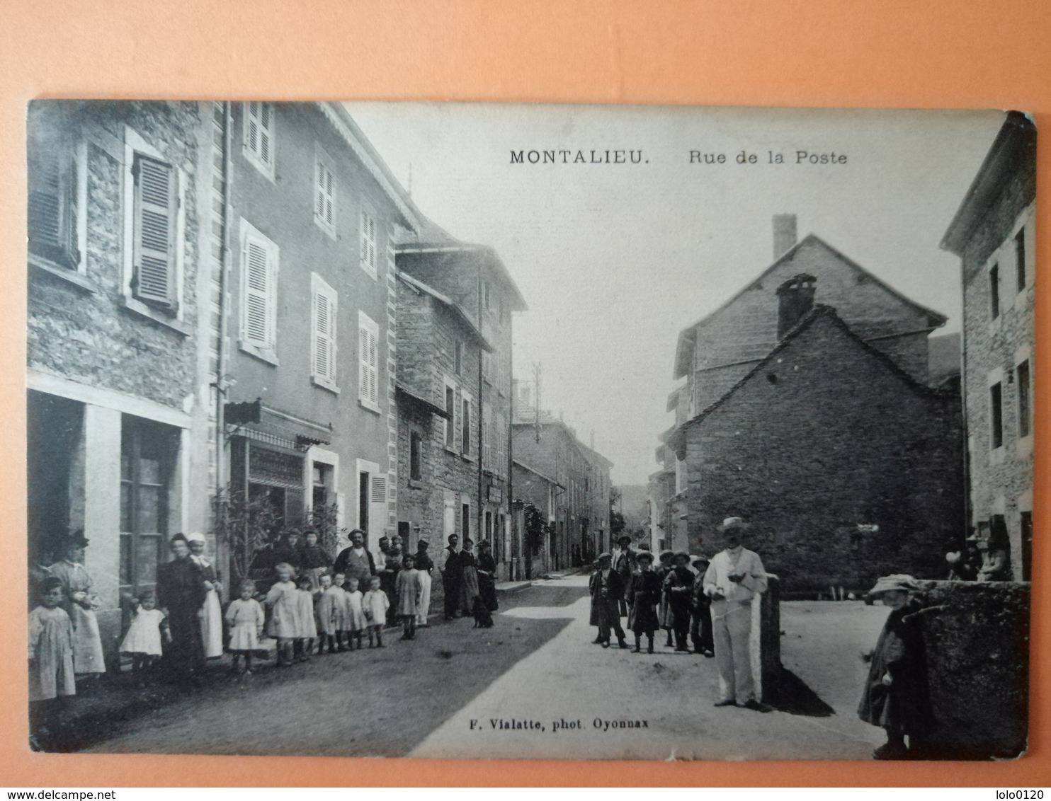 Montalieu Isère Rue De La Poste Tbe - France