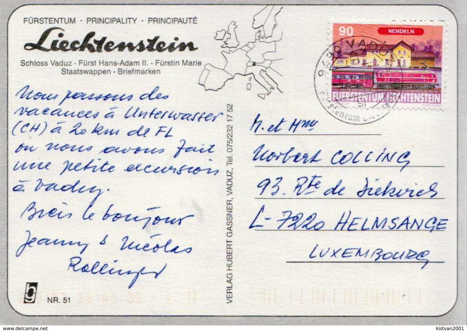 Liechtenstein Used PPC - Liechtenstein