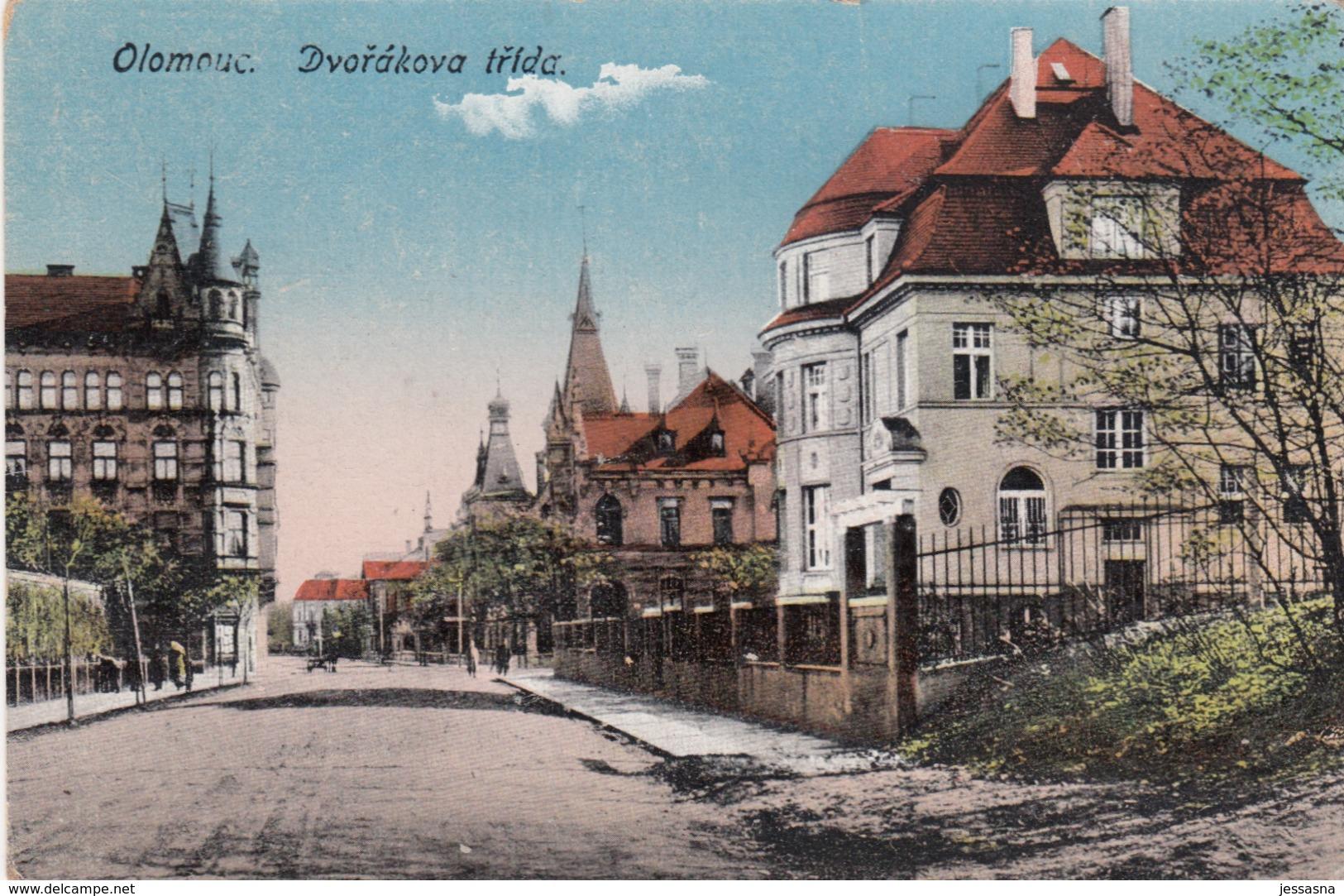 AK - Tschechien - Ölmütz - Ortsansicht - Dvorakova Trida - 1905 - Tschechische Republik