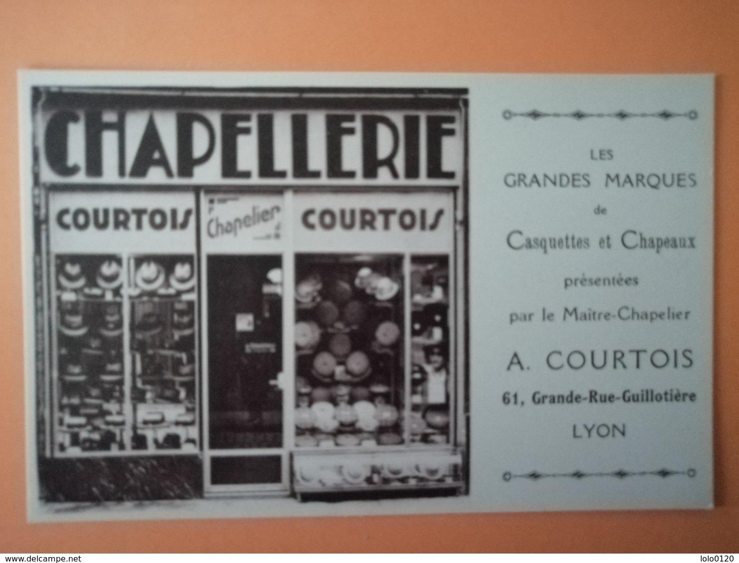 Lyon Chapellerie Courtois Tbe - Unclassified