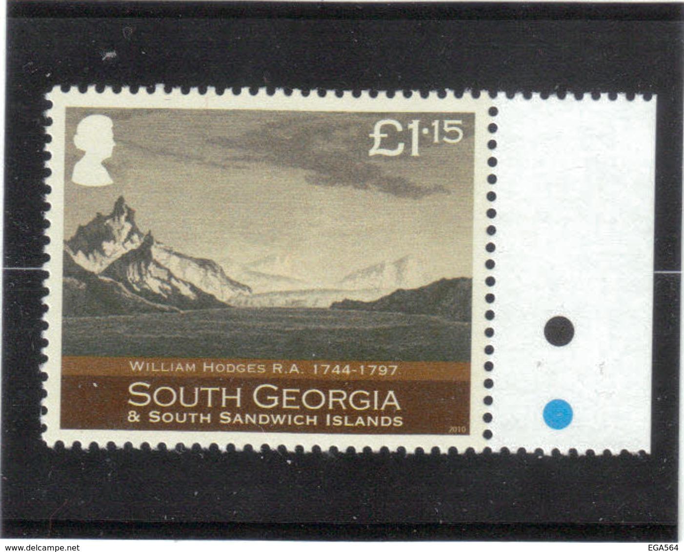 B7 - POSSESSION BAY Par William HODGES - ( Voyage De James COOK ) - Géorgie Du Sud