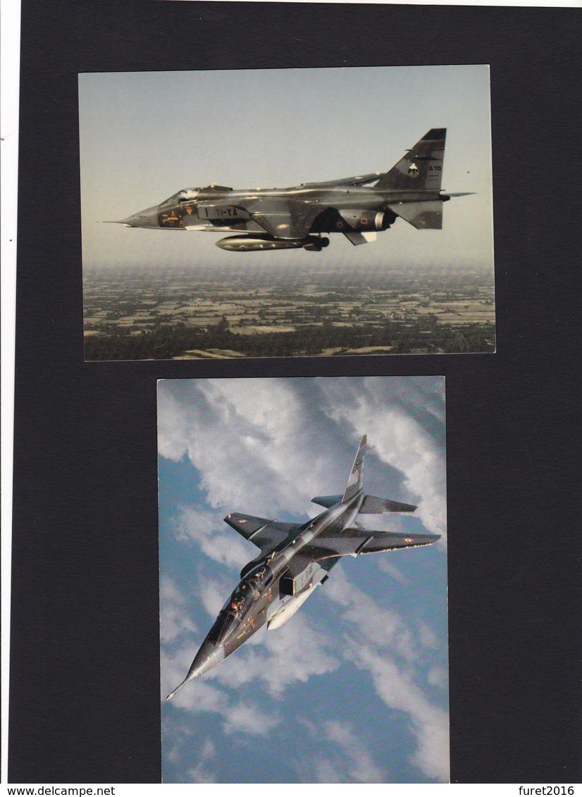 Avions De Chasse : Mirage Jaguar Super Etendard Alpha Jet  5 Cartes Neuves - Avions