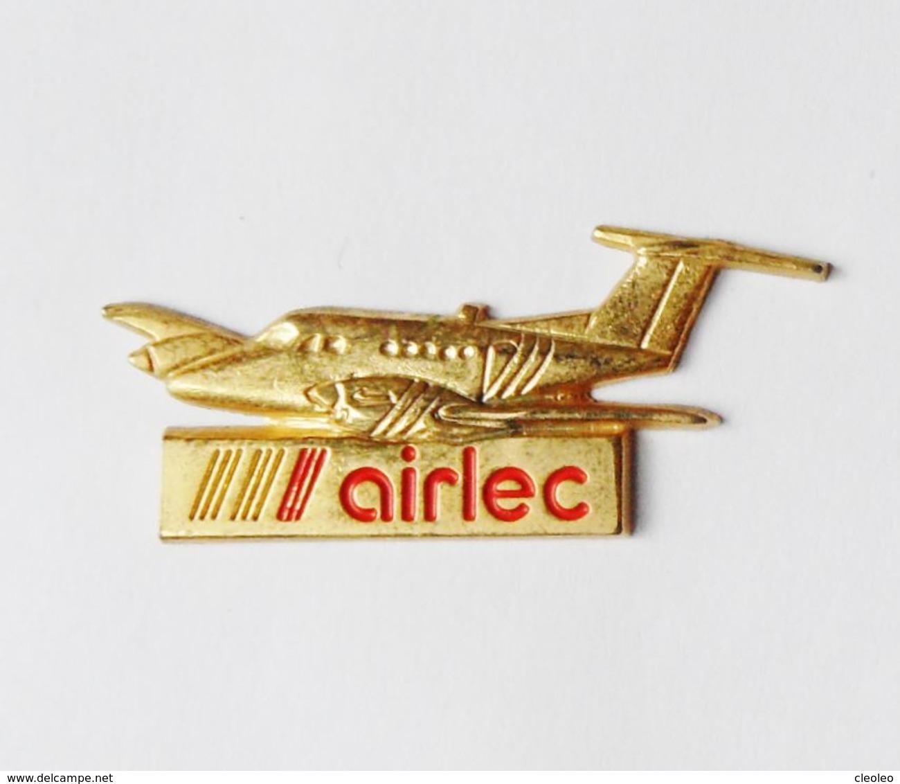 Pin's AVION AIRLEC - Avions