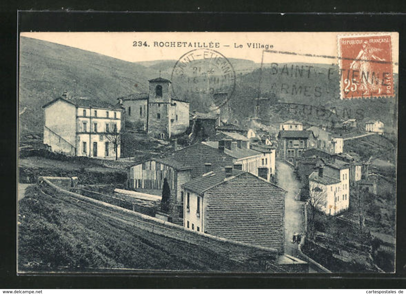 CPA Rochetaillee, Le Village - Rochetaillee