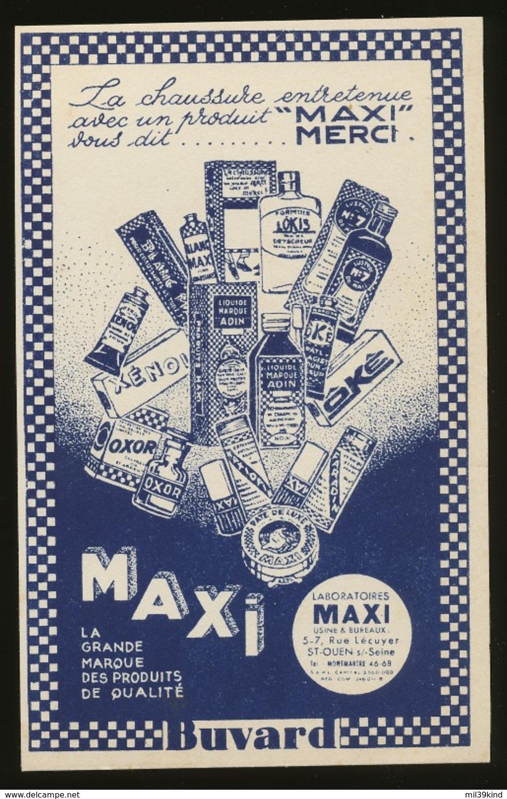 Buvard - MAXI - MERCI - PRODUIT MAXI - Carte Assorbenti
