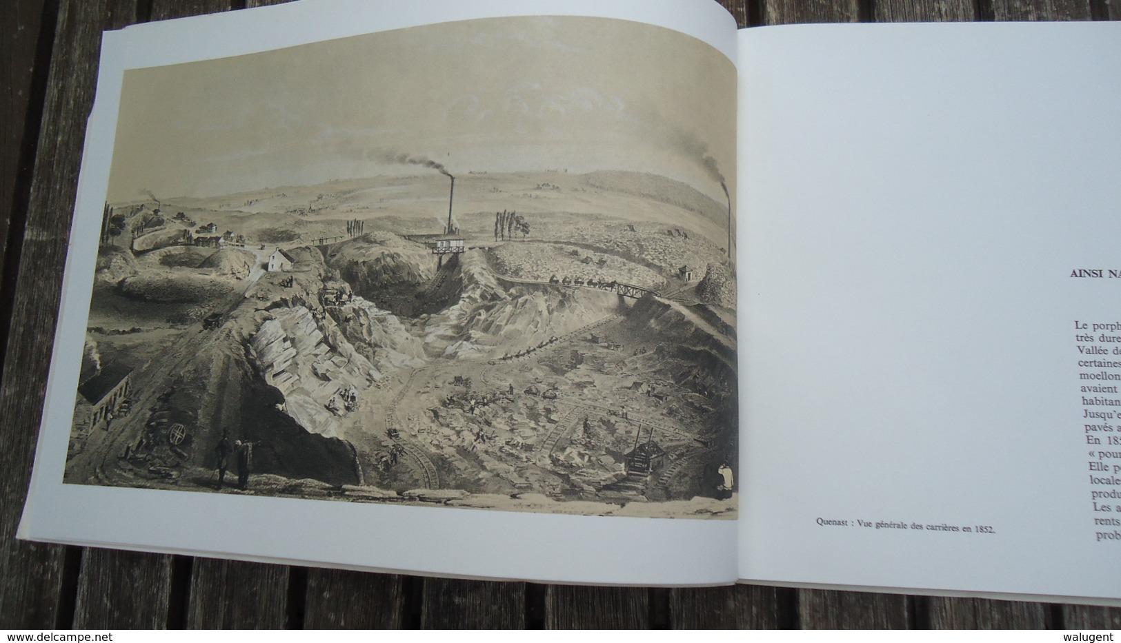 S.A. Des Carrières De Porphyre De Quenast - 1864 -1964 (voir Détails) - Culture