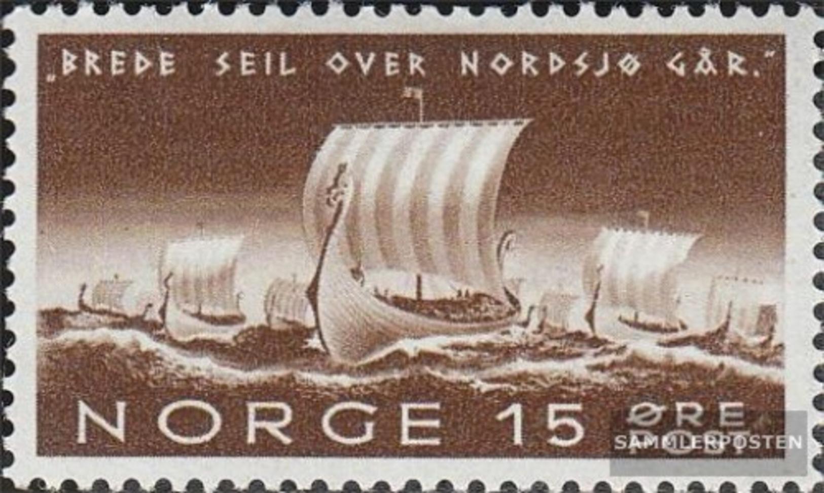 Norwegen 268 MNH 1942 Richard Nordraak - Ongebruikt