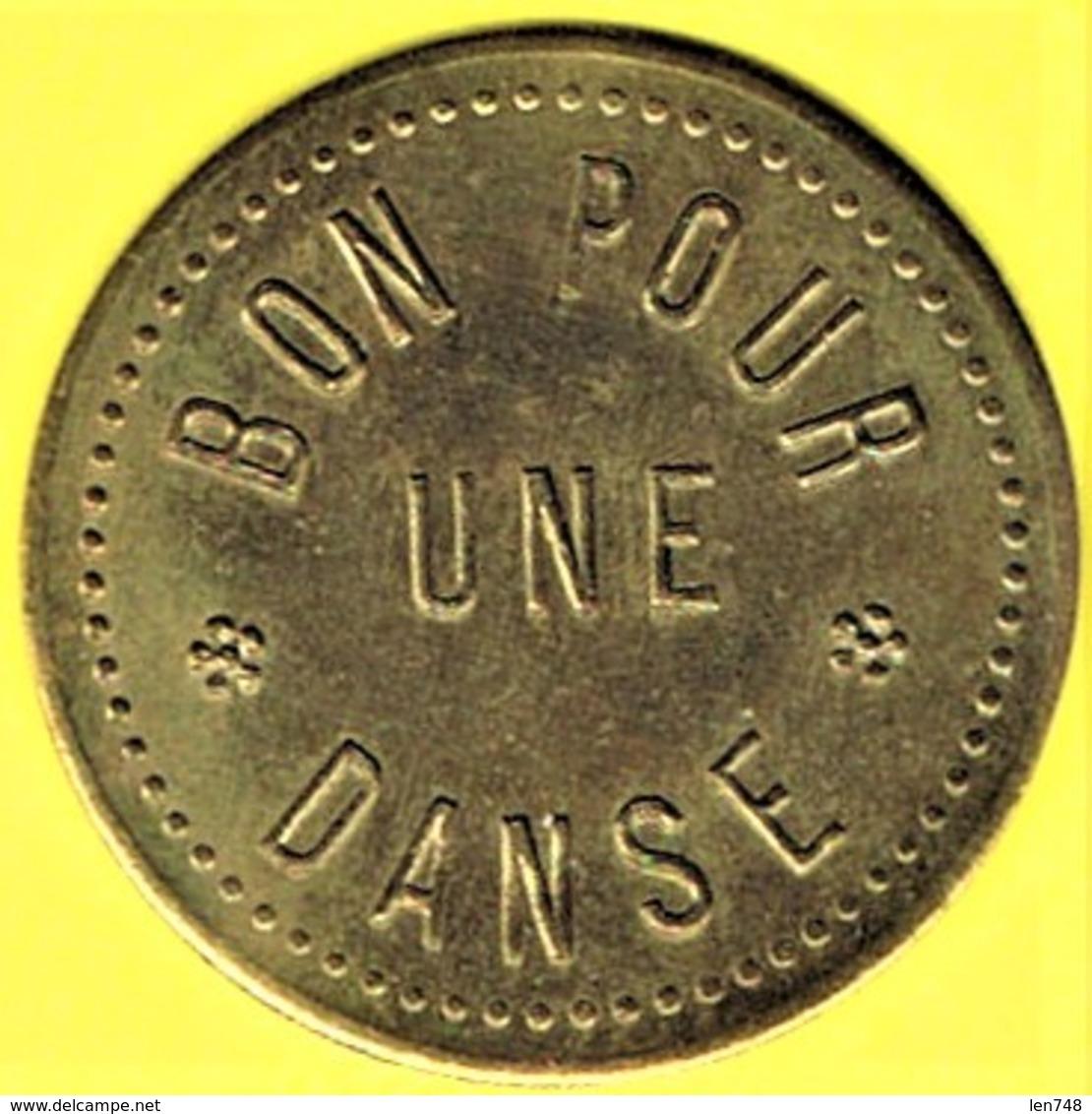 Nécessité - Jeton De Bal - BAL TRIANON E.D à ROMAINVILLE (93) - Monétaires / De Nécessité