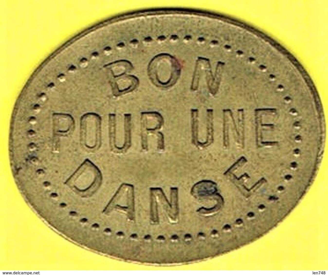 Nécessité - Jeton De Bal - BAL DU PETIT TERMINUS à PUTEAUX (92) - Monétaires / De Nécessité