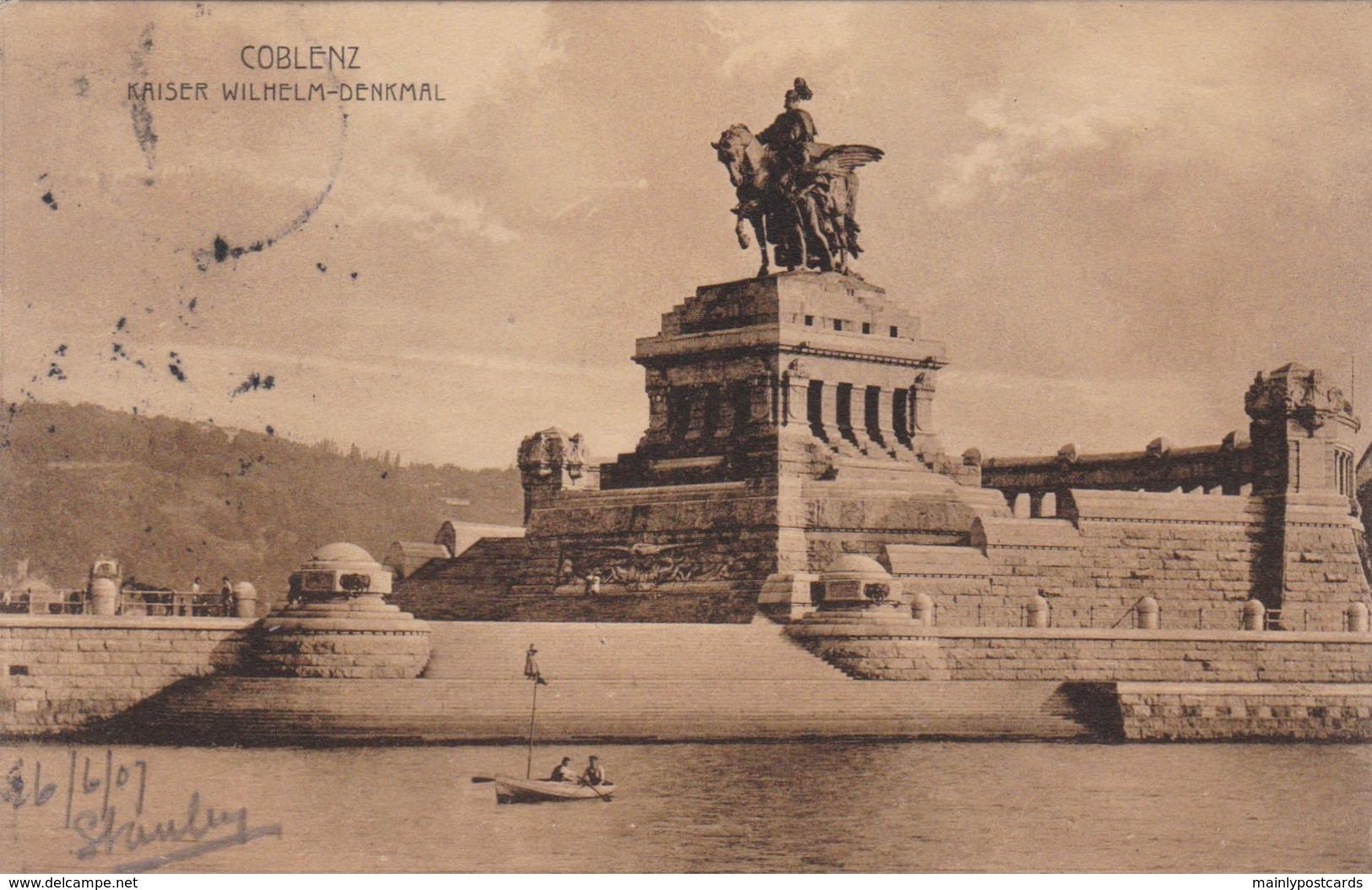 AO89 Coblenz, Kaiser Wilhelm Denkmal - Koblenz