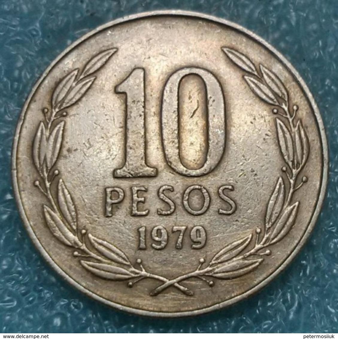 Chile 10 Pesos, 1979 -4254 - Chile