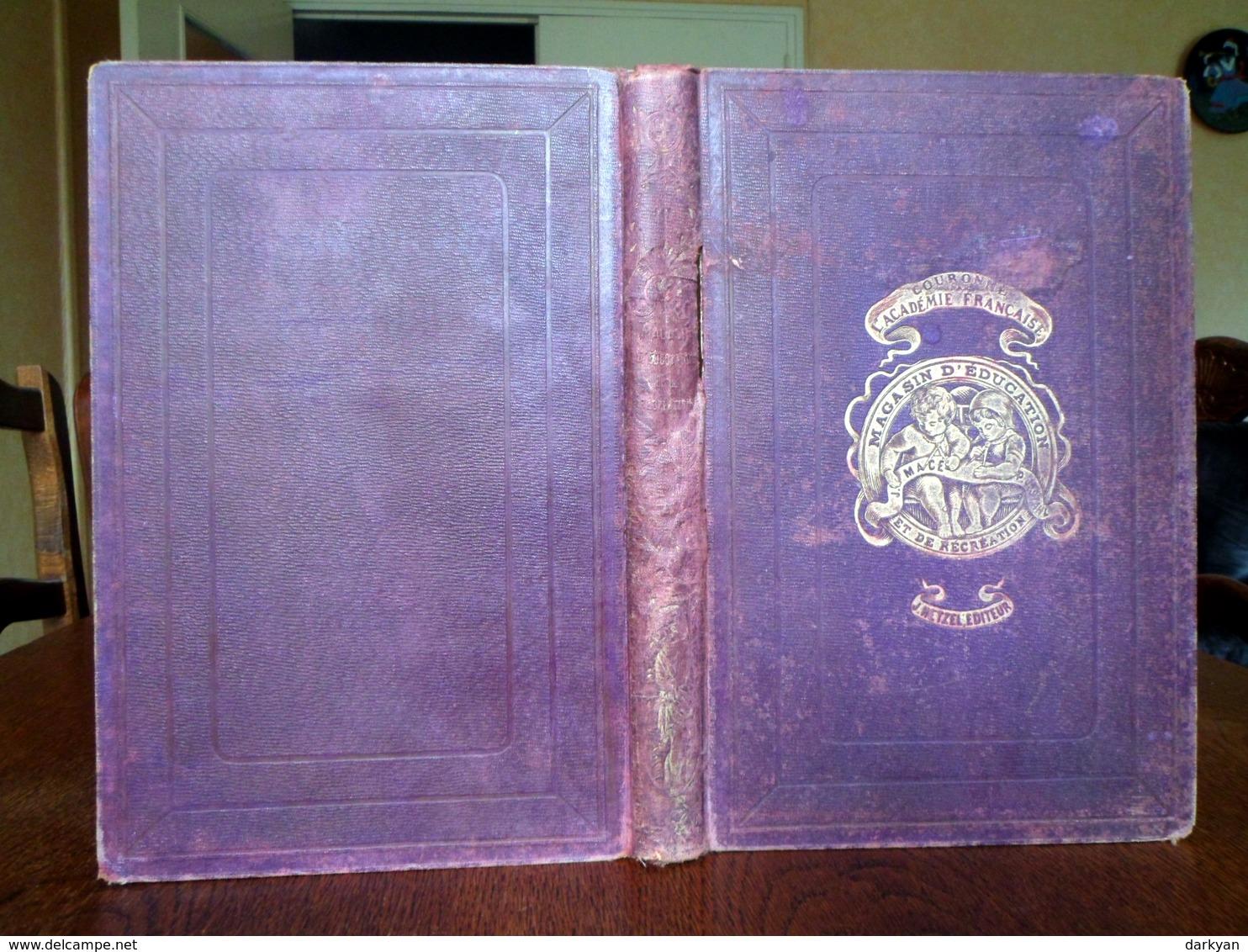 Jules Verne, Stahl - Magasin D'éducation Et De Récréation Volume LII - Hetzel 1890 édition Luxe, Dos Insolé - 1801-1900