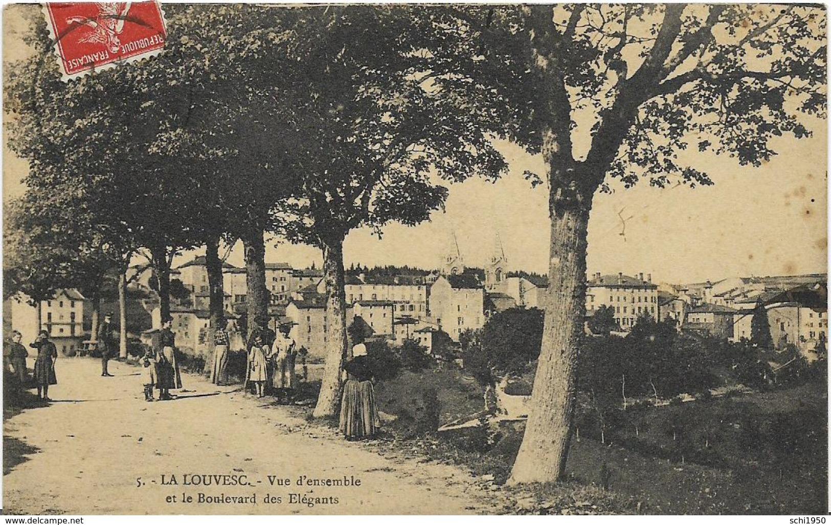 ~  JP   ~  07  ~   LA  LOUVESC   ~    VE  Et Le Boulevard Des  élegants   ~ - La Louvesc