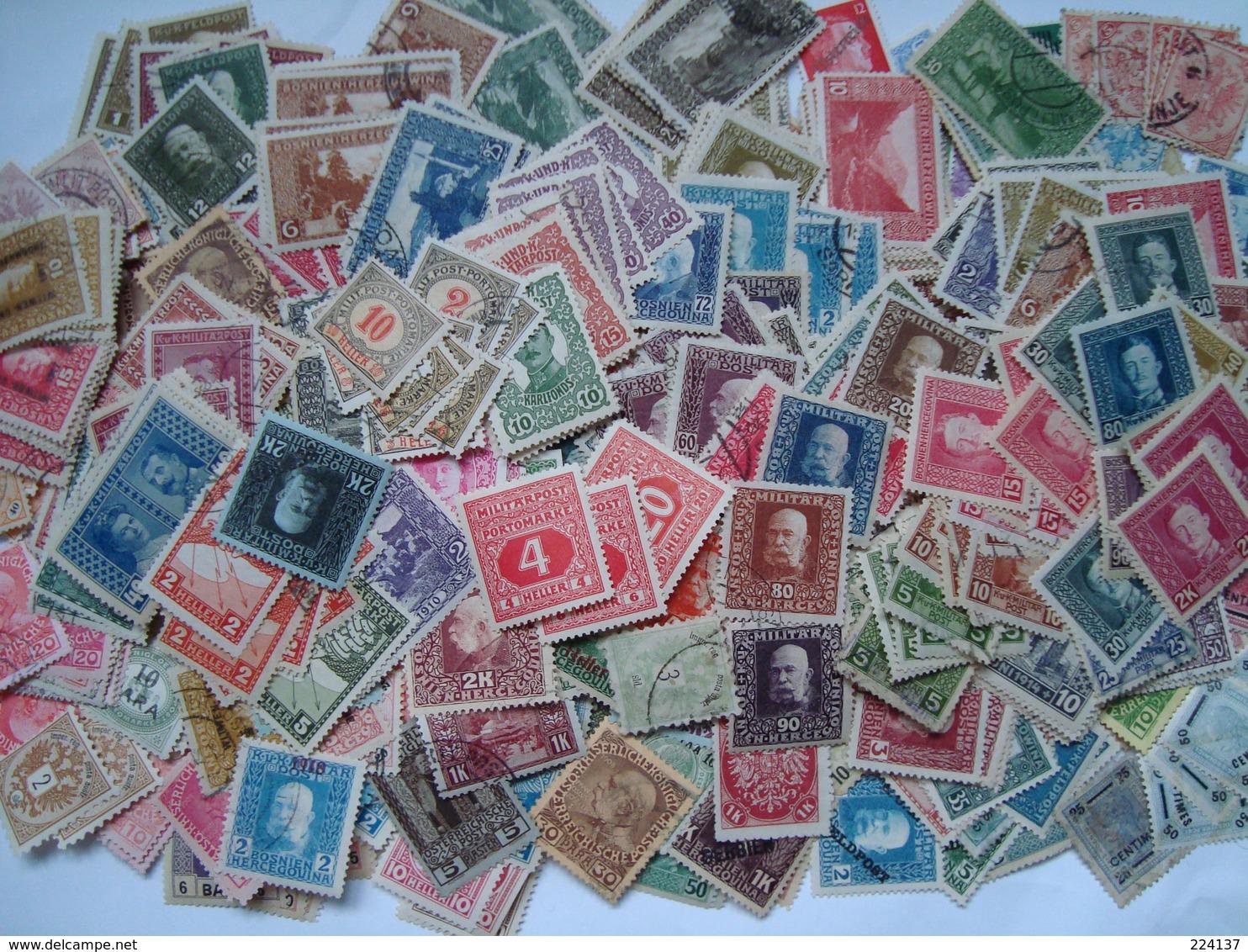 VRAC AUTRICHE + SATELLITES 290 G + 50G - Lots & Kiloware (mixtures) - Min. 1000 Stamps
