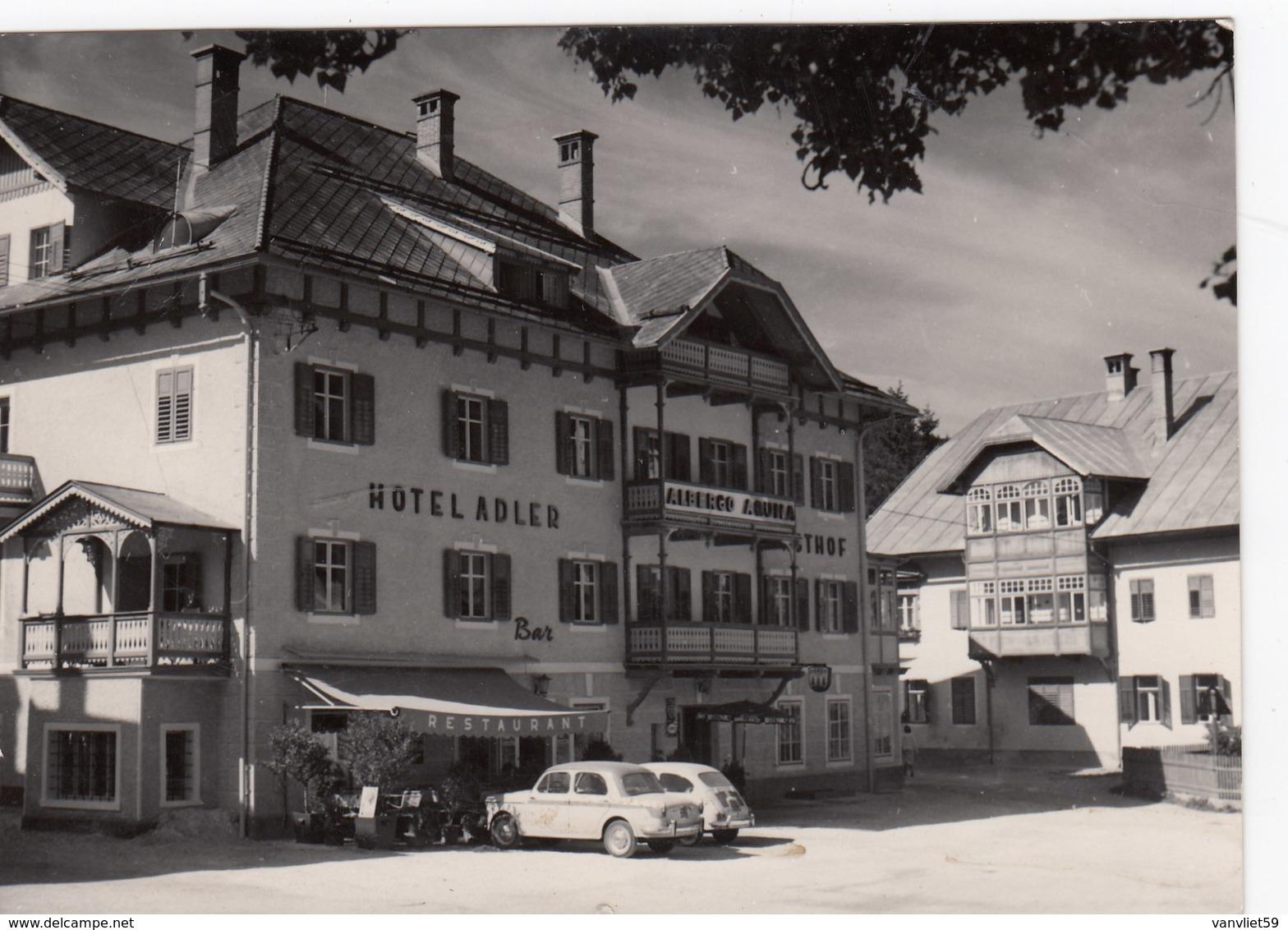 NIEDERDORF-VILLABASSA-BOZEN-BOLZANO-PENSIONE=AQUILA-ADLER=CARTOLINA VERA FOTOGRAFIA-VIAGGIATA   IL 17-8-1964 - Bolzano (Bozen)