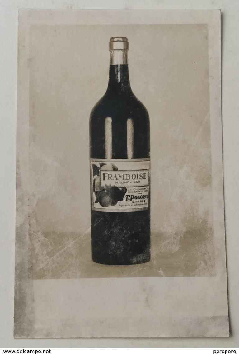 AK  FRAMBOISE  LIQUEUR FABRIQUEE  CHARTREUSE - Werbepostkarten