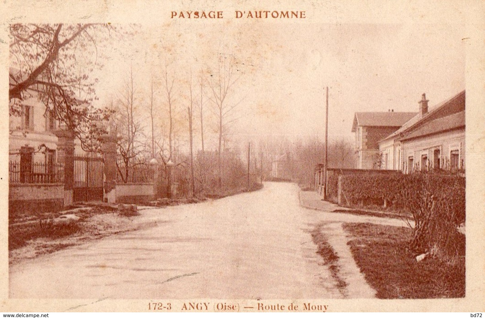 ANGY  ( 60 ) - Route De Mouy - Andere Gemeenten