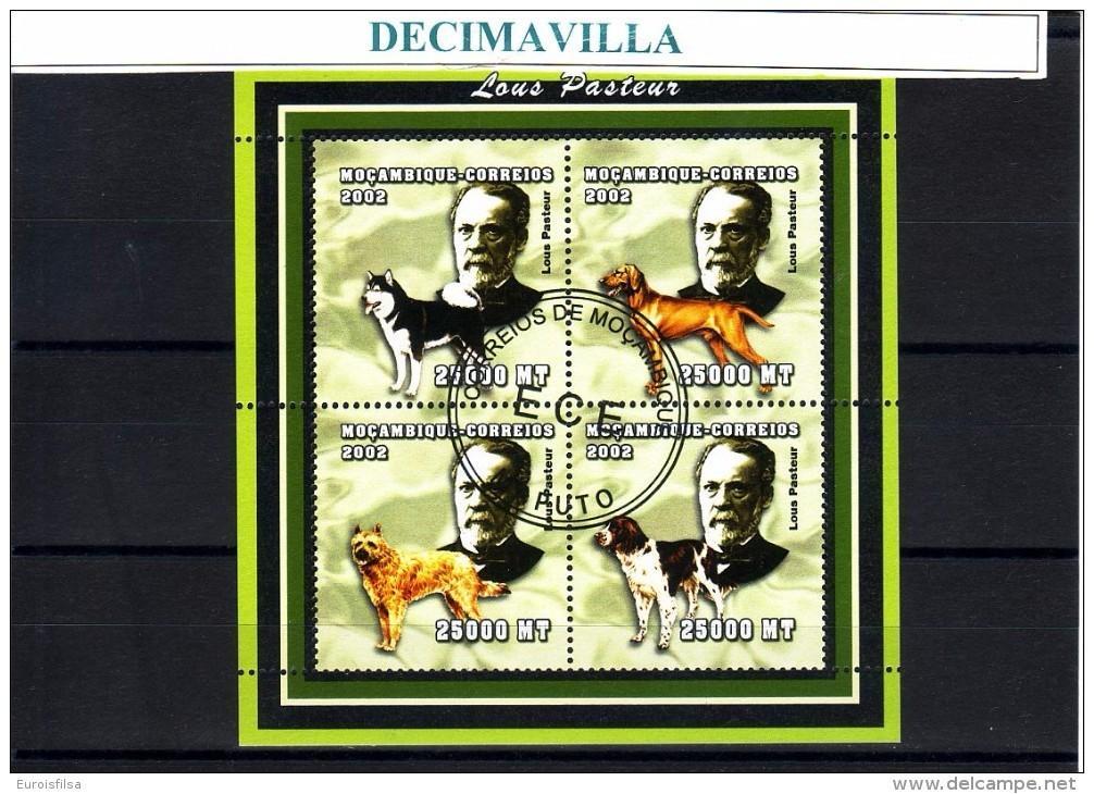 L686, MOZAMBIQUE, 2002, LOUIS PASTEUR - Louis Pasteur