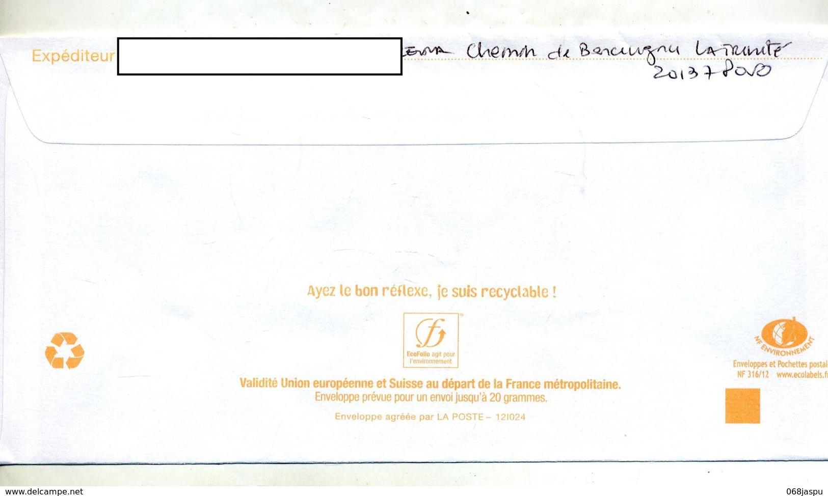 Pap Postexport Suisse Flamme Muette Bleue - Entiers Postaux