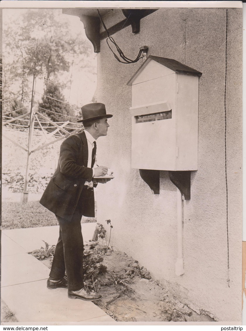 THE HOME ELECTRICAL ELECTRICITY HOUSEHOLD METER 1922  20*15CM Fonds Victor FORBIN 1864-1947 - Fotos