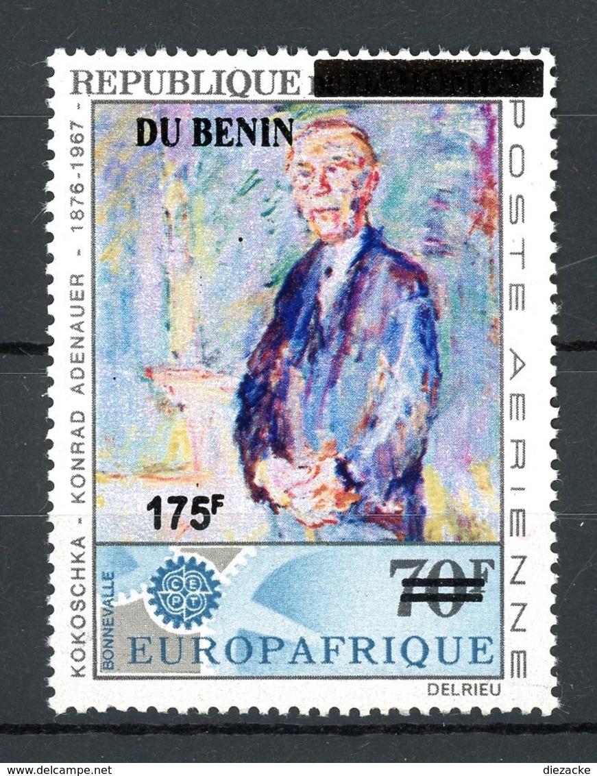 Benin MiNr. 1428 Postfrisch MNH Adenauer (W3293 - Benin – Dahomey (1960-...)