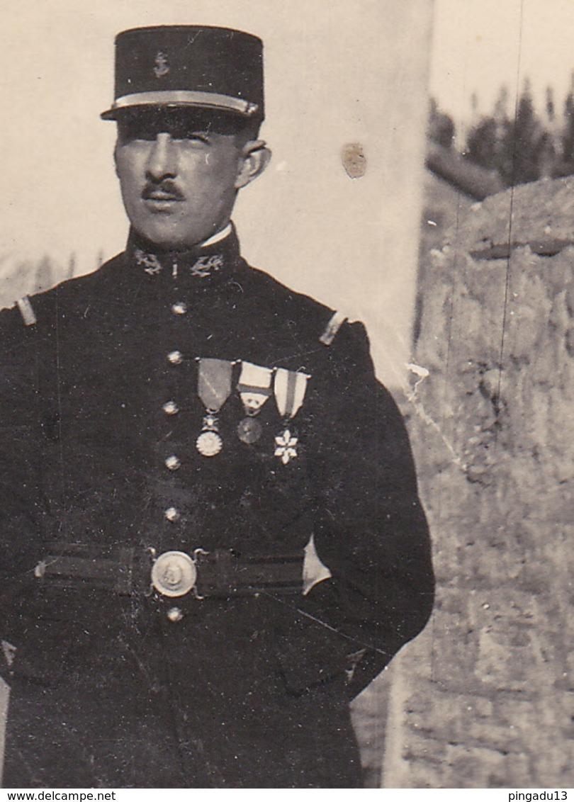 Au Plus Rapide Officier Infanterie Coloniale Médaille Décoration - War, Military