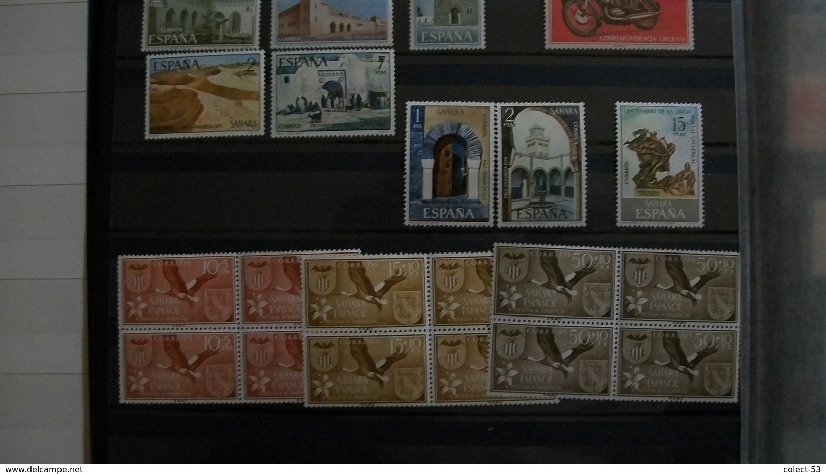 Spanish Sahara-Lot Of 32 Different Complete Sets- Fine Mint(mnh) Stamps - Collections (without Album)