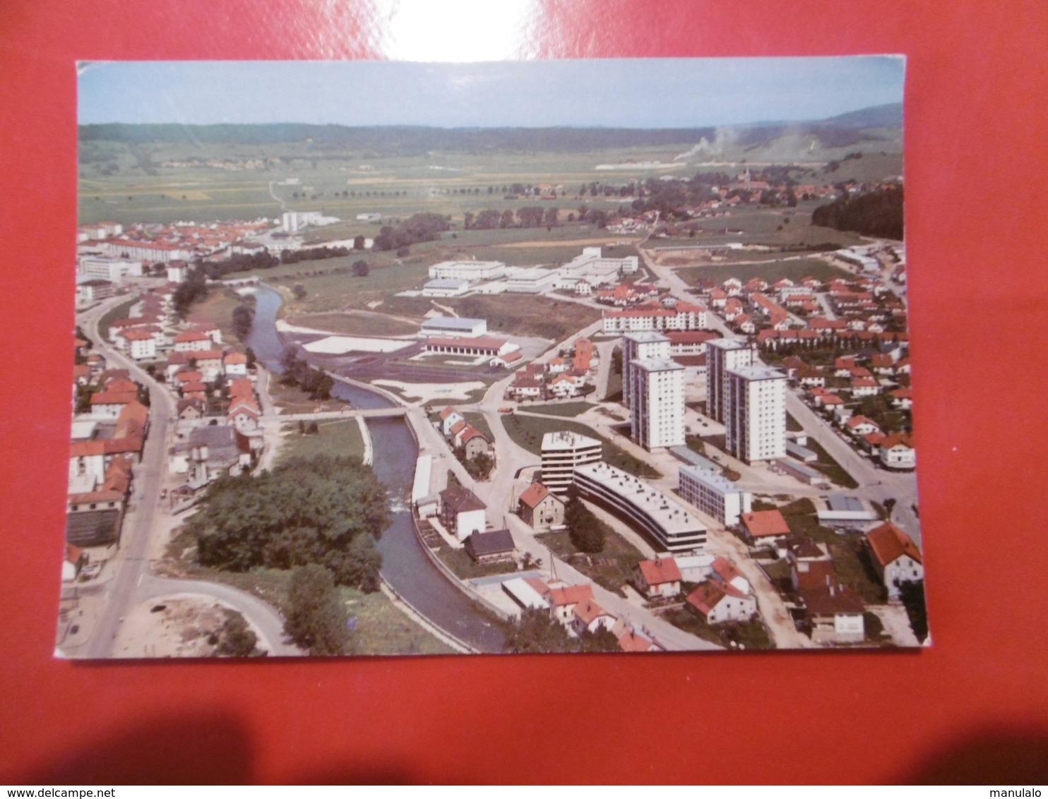 D 25 - Pontarlier - Les Nouveaux Quartiers; Piscine Couverte Et Lycée - Pontarlier