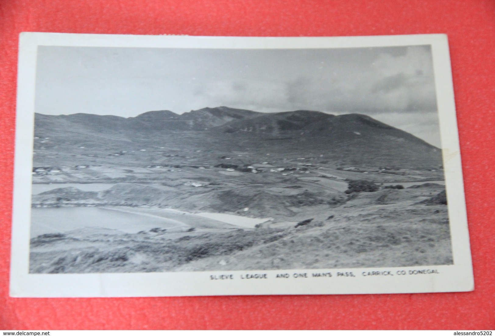Ireland Co Donegal Carrick Slieve League And Onr Man's Pass 1952 - Other
