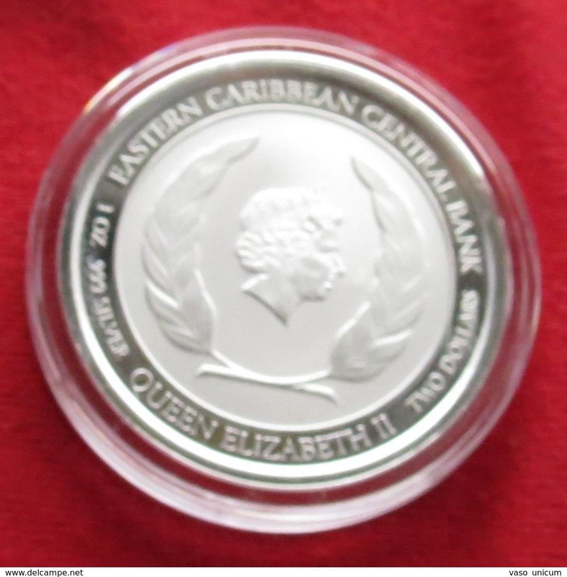 Montserrat 2 $ 2018 Coat Of Arms East Caribbean - Caribe Oriental (Estados Del)