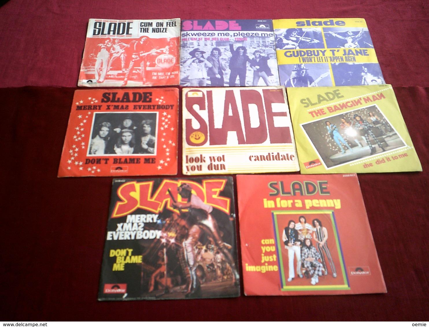 SLADE GROUPE 18  /  45 TOURS DIFFERENTS - Vollständige Sammlungen