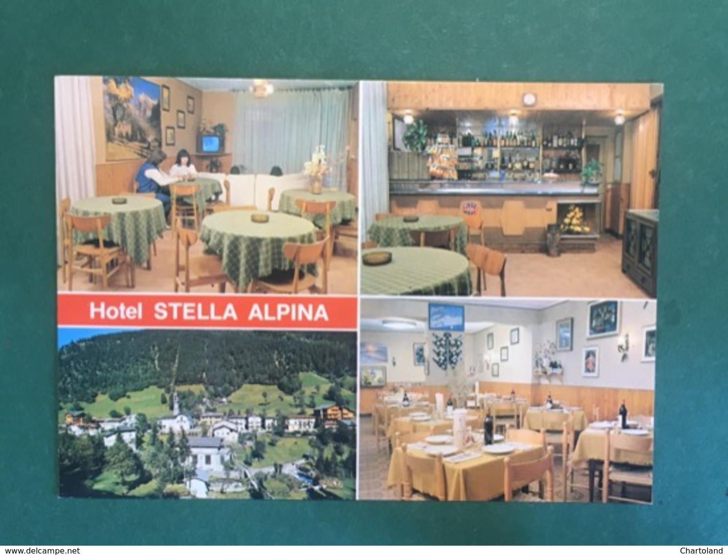 Cartolina Hotel Stella Alpina - Valcanale - Bergamo - 1970 Ca - Bergamo