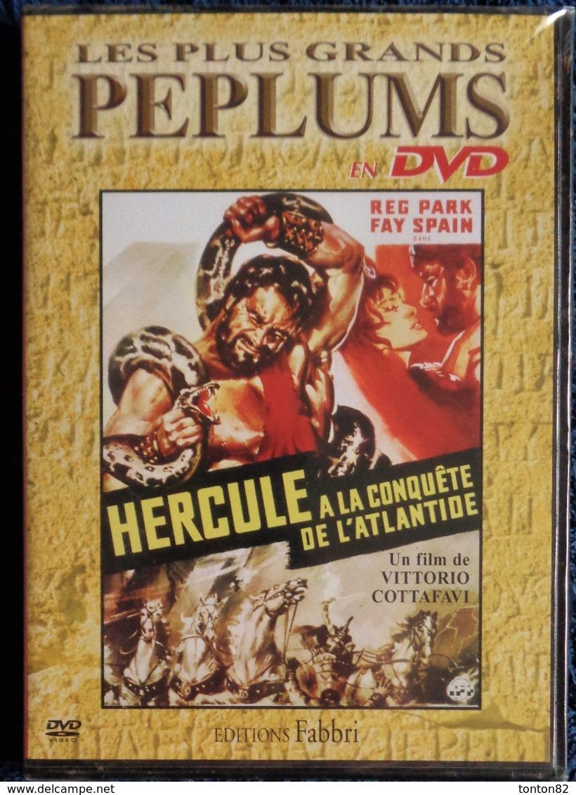Les Plus Grands PÉPLUMS - HERCULE à La Conquête De L' ATLANTIDE . - DVD