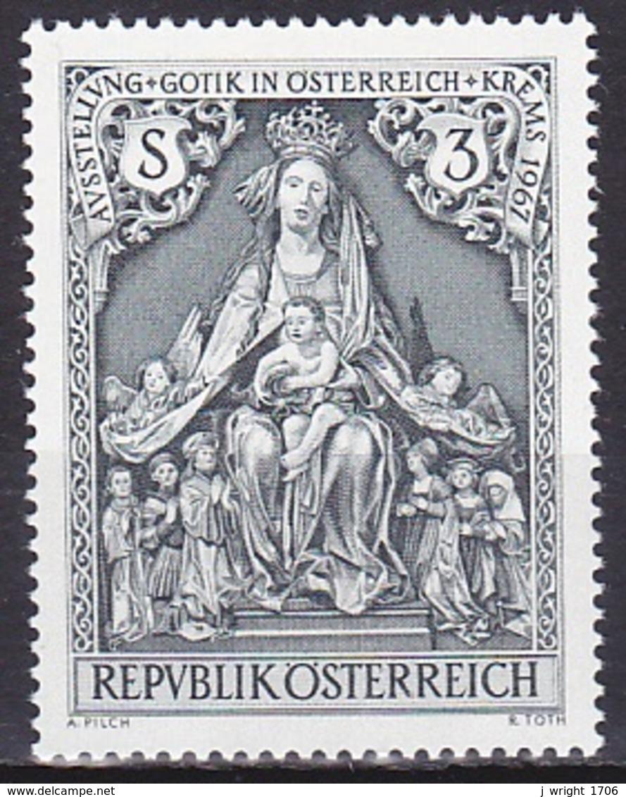 Austria/1967 - Gotic Art In Austria/Gotik In Österreich - 3 S - MNH - 1945-.... 2nd Republic