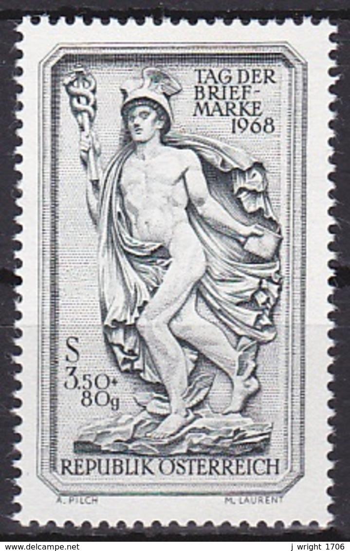 Austria/1968 - Stamp Day/Tag Der Briefmarke - 3.50 S + 80 Gr - MNH - 1945-.... 2. Republik