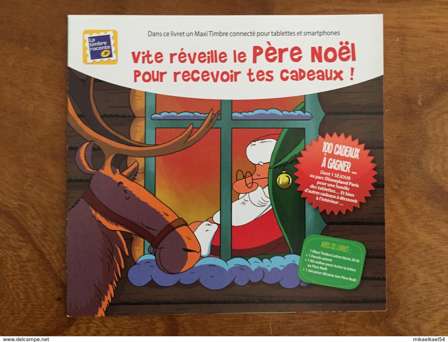 COLLECTOR VITE REVEILLE LE PERE NOEL - LE TIMBRE RACONTE - Adhésif - 2013 - Neuf ** - Collectors