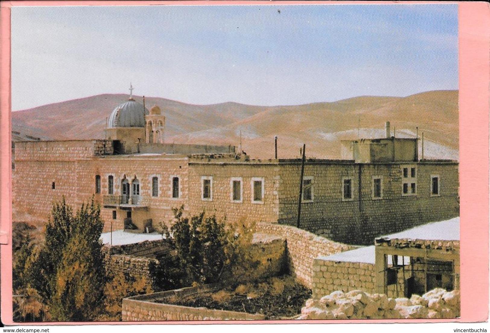 Maloula Syrie Couvent Saint Serge Et Eglise Convent Ma'lula Monastery Church Syria Parfait état - Syrie