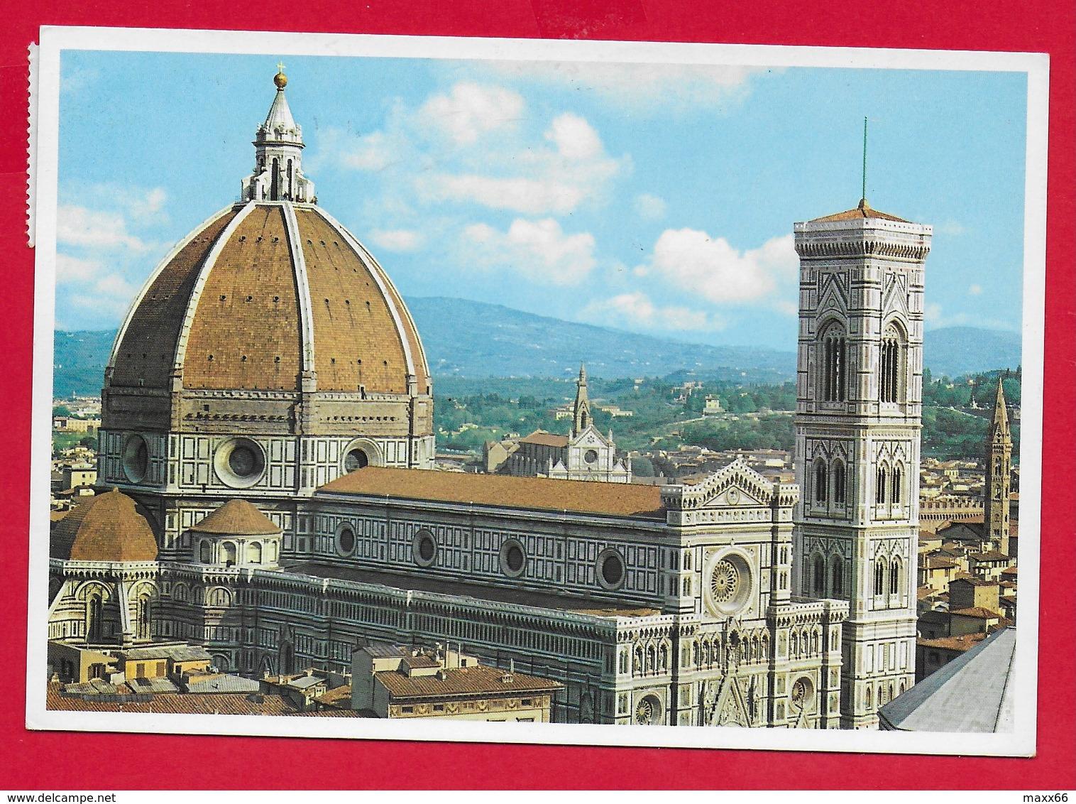 CARTOLINA VG ITALIA - FIRENZE - La Cattedrale - 10 X 15 - 1988 - Firenze