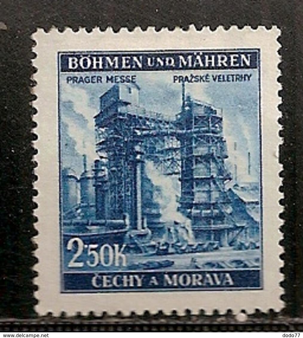 BOHEME ET MORAVIE    N°   68  OBLITERE - Bohême & Moravie