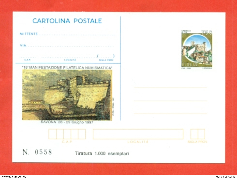 INTERO POSTALE-INTERI POSTALI I.P.Z.S.-CARTOLINA POSTALE-I.P.Z.S.-MARCOFILIA- SALONI COLLEZIONISMO-SAVONA - Interi Postali