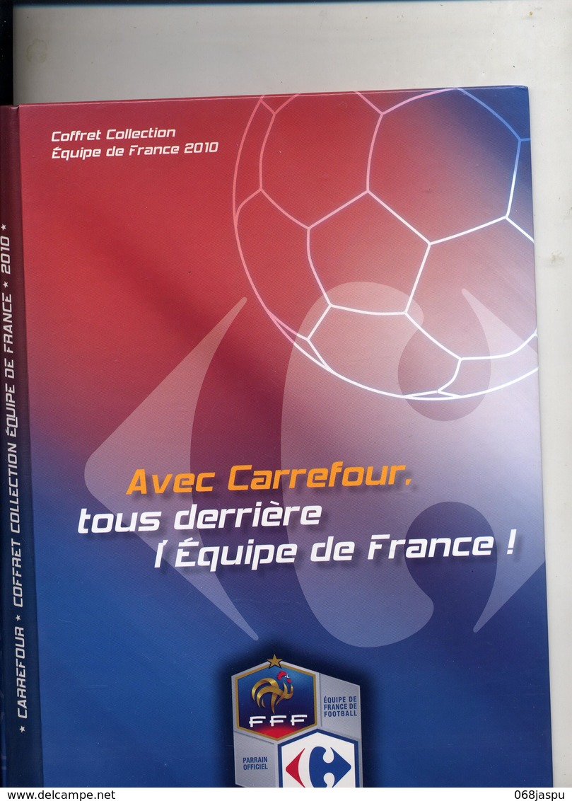 Collector Carrefour Equipe France Football 2010 + 12 Magnets à Voir - Sports