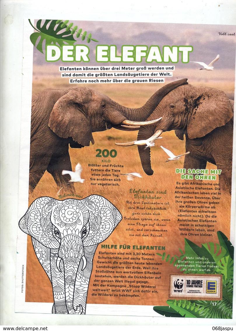 Page ? Theme Elephant WWF - Revues & Journaux