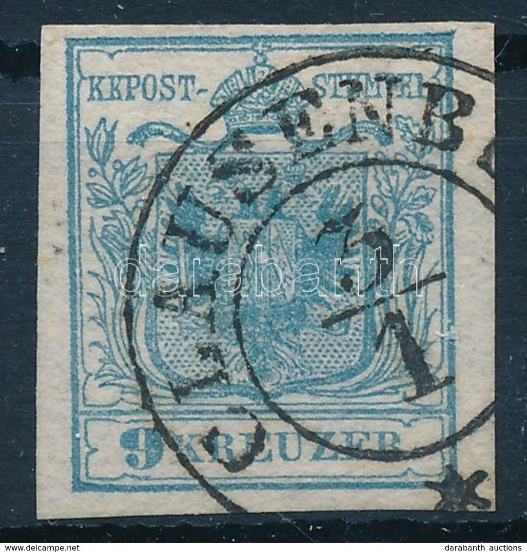 O 1850 9kr HP I. 'CLAUSENB(URG)'' - Timbres